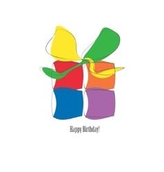 Gift icon logo vector