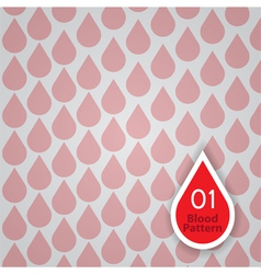 Blood dontation pattern vector