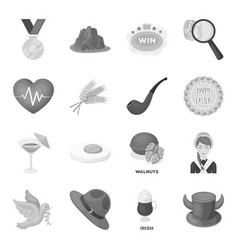 Fan country food and other web icon in vector
