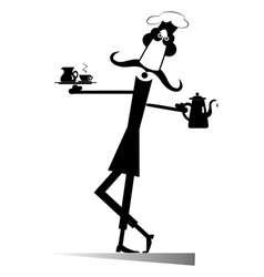 Have a cup of coffee or tea vector