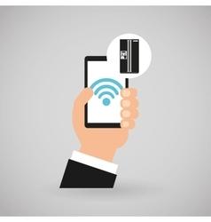 smart appliances design vector image