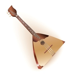 Traditional Russian balalaika vector image