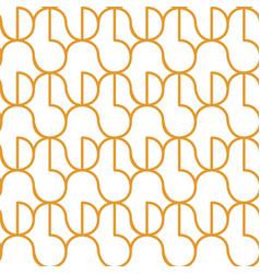 circle seameless pattern vector image