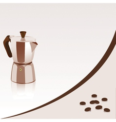 Coffee maker vector