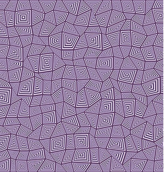 Abstract rectangle mosaic pattern background vector image