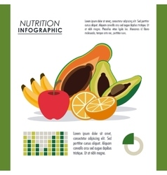 Infographic icon nutrition design graphic vector