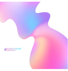liquid paint vector image