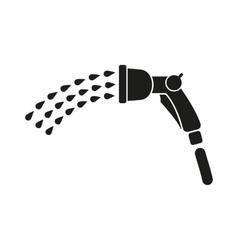 The spray gun icon irrigation and watering symbol vector