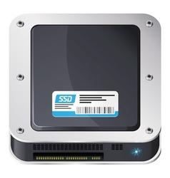 SSD icon vector image