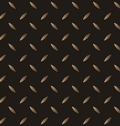 Seamless steel diamond plate vector