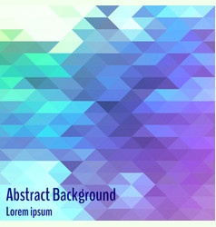 Abstract geometric background bright polygon vector