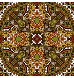 Abstract geometric seamless pattern ornamental vector
