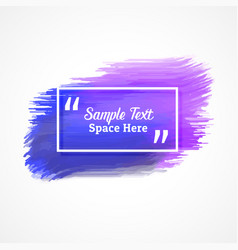 Abstract purple grunge background with text space vector