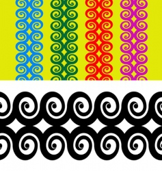 armband tattoo vector image