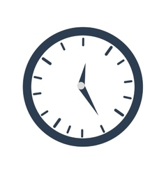 Clock time business money design vector
