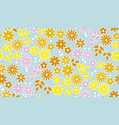 simple summer color seamless pattern vector image vector image