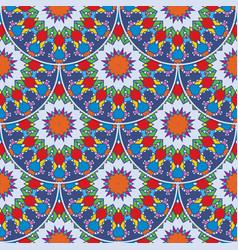 Seamless pattern in arabic style muslim eastern vector