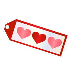 Abstract love object vector