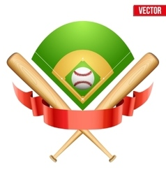 baseball leather ball and vector image