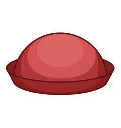 Bowler icon cartoon style vector