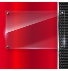 Elegant metallic background vector
