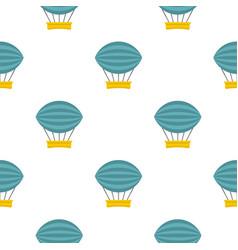 Aerial transportation pattern seamless vector