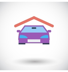 Garage icon vector