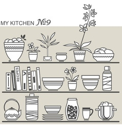 Kitchen9 vector