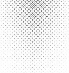 Abstract monochrome curved star pattern background vector