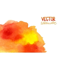 Abstract watercolor background for your design vector image vector image