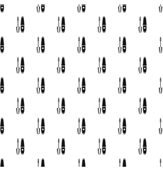 Mascara pattern simple style vector
