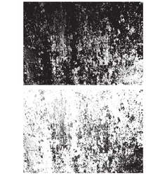 Grunge black and white texture distress texture vector