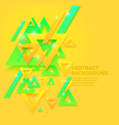 modern abstract geometric background vector image vector image