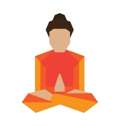 Yoga asans pose vector
