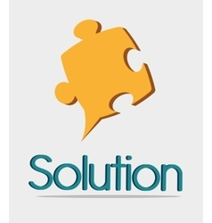 Business solutions icons design vector