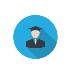 graduated vector image