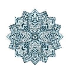 Mandala Decorative floral ethnic pattern vector image