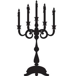candelabrum vector image vector image