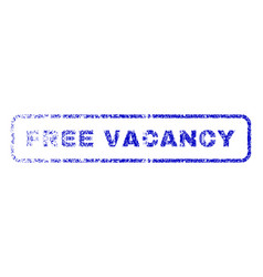 Free vacancy rubber stamp vector