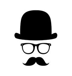 gentleman portrait vector image