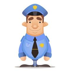 Police officer vector