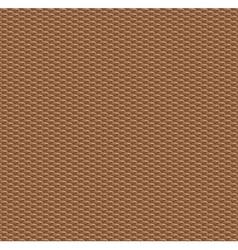 Wood weaved texture vector image vector image