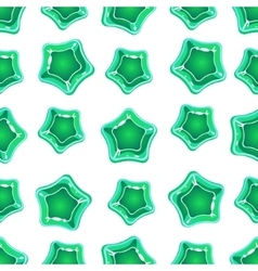 Star shape candy pattern vector