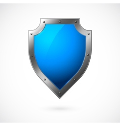 Shield icon isolated vector image