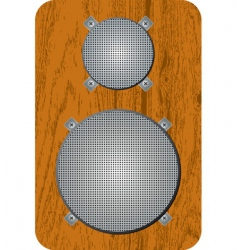 speaker 02 vector image