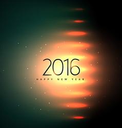 2016 new year greeting presentation vector image vector image