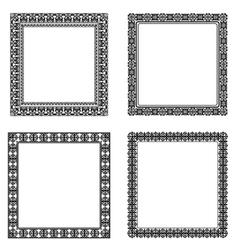 Set of frame vector