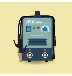 Electric welding machine vector