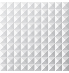 Geometrical white seamless pattern vector