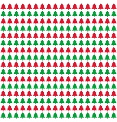 Christmas trees background4 vector image vector image